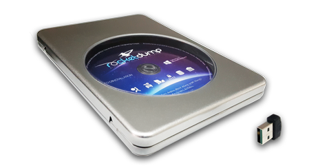 cdrom rocketdump dongle